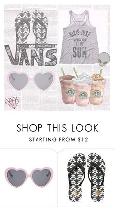 """""""GIRLS JUST WANNA HAVE SUN"""" by aspashley on Polyvore featuring Vans"""