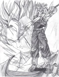 """Mirai no Trunks:""""Y era usted,Gohan-san,el que estaba hablando y obrando por mí""""(Entre el sueño y la vigilia)"""