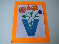Alphabet Letter V Is For Vase Craft! It's Alphabet Letter