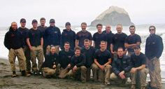 In Memory of Prescott Firefighters Lost 6/30/2013..........  Photo of the Granite Mountain Hotshots after a firefighting excursion in Oregon.