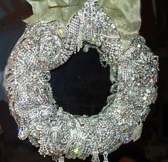 @Chris Minar Walker, when you go yard sale-ing look for some costume jewelry for me! I want to make this for christmas! And if you hit the jackpot, Mom would love one too! What a beautiful idea!
