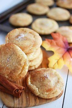 The Comfort of Cooking » Sea Salt Caramel Stuffed Snickerdoodles