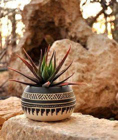 Gemacht auf Bestellung Keramik Übertopf Keramik Navajo
