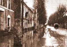 Murcia: Floods on El Palmar Road Murcia, Spain, Tower, New York, Antique, Old Bridges, 19th Century, Palmas, Antique Photos