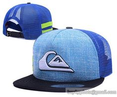 QUIKSILVER Mesh Snapback Hats Quick-drying cap 003|only US$6.00 - follow me to pick up couopons.