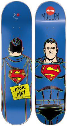 Almost Superman Mid Mullen Skateboard Deck