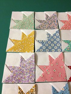 1930's Reproduction Mini Quilt Blocks by TheOleCountryQuilt