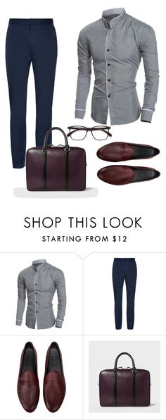 """""""Untitled #658"""" by style75 ❤ liked on Polyvore featuring Galet, men's fashion and menswear"""