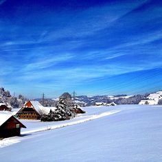 Emmental on Instagram  #lovely #emmental #secondhome #snow #snowhite #house #swiss #sky #bluesky #clouds #tree #switzerland #suisse #winter #winterwonderland #igers #instapic #iphone4s #instagood #instamood #insta_pick_skyart #photooftheday #love #beautiful #bern - @_livinglaughingloving_ Bern, Insta Pic, Winter Wonderland, Switzerland, Shots, Hipster, Clouds, Sky, Pictures