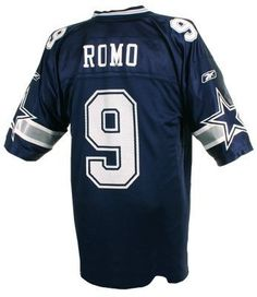 8f31a37f311 Reebok Dallas Cowboys Tony Romo Replica Jersey by Reebok. $29.97. Nylon  dazzle sleeves and