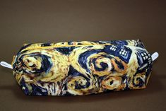 Boxy Makeup Bag - Exploding Tardis from Doctor Who Zipper - Pencil Pouch for $10 +s&h by LittlePeachFuzz on Etsy