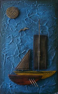 clay boat