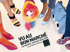 Rien que pour vous Mesdames : un nouvel espace exceptionnel de 2000m², entièrement dédié aux Souliers s'est ouvert au 2ème étage du Bon Marché Rive Gauche ! #VuAuBonMarche #LeBonMarche #shoes #mode #femme #fashion #women