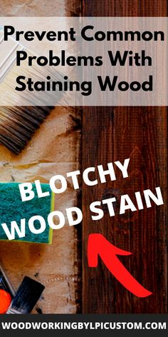 """An Easy to follow """"How To Stain Wood"""" DIY Tutorial.  Even if you  are new to the wood stain process, we show you the best way to apply stain to wood and the most creative wood staining techniques.  Take a look at how we show you wood staining techniques ideas for your DIY wood projects and woodworking projects for the best outcome. #woodstain #woodworking #diy #diyproject #tablebuild #furniturebuild #stainingwood Diy Wood Signs, Painted Wood Signs, Wood Staining Techniques, Water Based Wood Stain, Diy Wood Stain, Wood Gifts, Business Signs, Diy Wood Projects, Shop Ideas"""