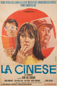 Italian poster for La Chinoise (Jean-Luc Godard, France, 1967).