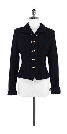 Milly Black Wool Jacket