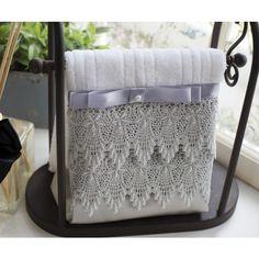 toalhas lavabo com renda guipir - Pesquisa Google
