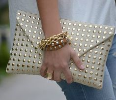Studded Clutch - Fantastic!