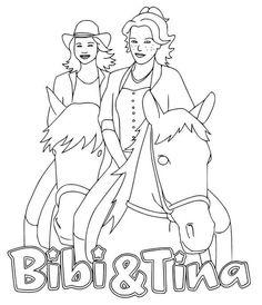 bibi und tina ausmalbilder kostenlos malvorlagen windowcolor zum drucken | ausmalbilder