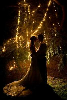 lighting wedding