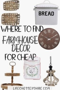 Home Decor farmhouse style The 5 Best Websites for Farmhouse Decor on a Budget Where to find farmhouse decor that isn't crazy expensive! The fun part? Because everything is cheap, you get to buy more! Country Decor, Farmhouse Decor Living Room, Farmhouse Decor, Rustic House, Country Style Homes, Rustic Diy, Cheap Farmhouse Decor, Farmhouse Remodel, Contemporary Home Decor