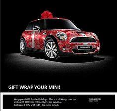 MINI Cooper - gift wrap your mini