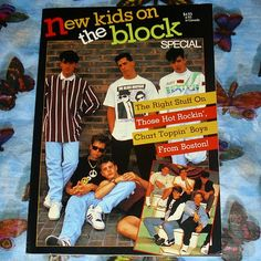 New Kids On The Block Special Book Music by WelshGoatVintage