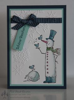 Stampin' UP! Snow Much Fun by First Hand Emotion