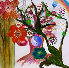 Kunst Online, Buddhism, Painting, Atelier, Imagination, Tree Structure, Watercolour, Painting Art, Paintings