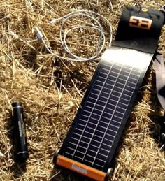 Bushnell SolarWrap 400 Solar Power Charger - $65 #recharge #travel #energy #battery #charger #portable #flexible