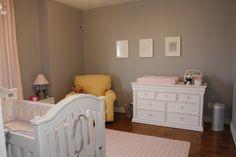 Pink & Gray Alinas Baby Nursery