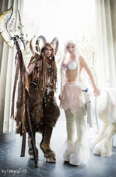 Faun Couple Original Cosplay http://geekxgirls.com/article.php?ID=2600