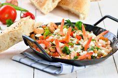 Saganaki mit Garnelen  #fruttidimare #griechisch #typisch #saganaki #typical #awesome #food #foodie #weloveit #lidlösterreich #yummy #seafood #feta #sogood #recipe #rotd