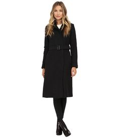 Cole Haan Double Breasted Maxi Coat Charcoal - Zappos.com Free Shipping BOTH Ways
