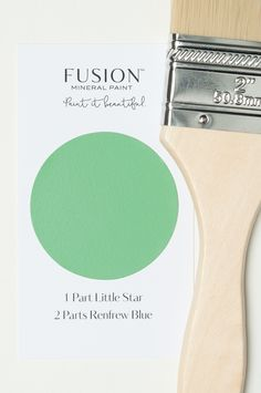 FUSION MIneral Paint custom blends.  See them all at LostandFoundDecor.com