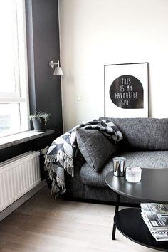Dicas para criar decorações clássicas em p&b em casa