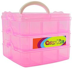 Shopkins Compatible Organizer – Storage Container and Carrying Display Case