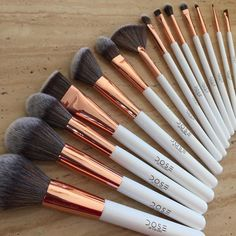 Dose Of Colours - Rose Gold 14-Piece Brush Collection