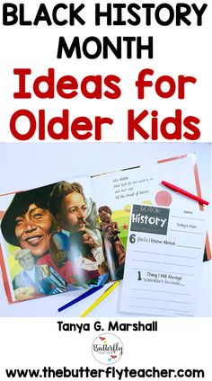 This post shares book ideas, activities, and tips for teaching Black History Month to older students. Black History Month Facts, Black History Month Activities, Reading Comprehension Skills, Reading Skills, Teaching Science, Teaching Ideas, Black History Books, Teacher Helper, Mentor Texts