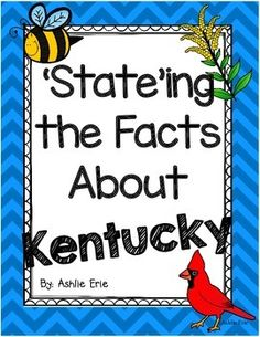 This is a great unit all about Kentucky!Learn all about the symbols of Kentucky.This unit pack includes Famous Kentuckians:Abraham Lincoln and Daniel BooneUse the Kentucky Fact Posters along with the 'State'ing the Facts about Kentucky Reader as visual for the kids.There are some book and a puzzle information that will need to be puchased else where.Page 3-5                  Kentucky Write the RoomPage 6-14                  Stateing the Facts About KY ReaderPage 15-21Kentucky Facts…
