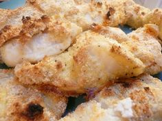 Almond Crusted Wild caught Cod