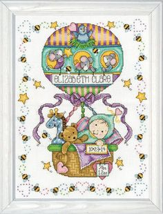 Baby Birth Announcements - Cross Stitch Patterns & Kits
