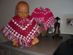 Poncho's voor de baby born
