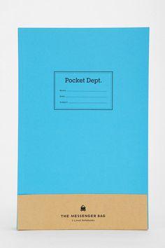 Pocket Dept. Notebook - Set Of 3