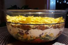 Taco – Salat Taco salad, a refined recipe from the category Refined & inexpensive. Vegan Recipes Easy, Dog Food Recipes, Salad Recipes, Diet Recipes, Burger Party, Cheese Stuffed Chicken, Party Buffet, Special Recipes, Diy Food