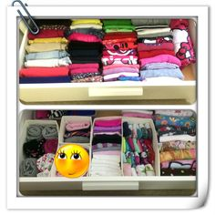 KonMari method - girl's drawers
