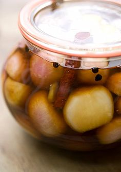 SWEET PICKLED ONIONS
