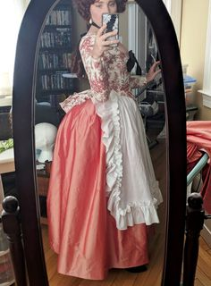 """but providing the base on which to make/drape/mount your """"fashion"""" fabric. It enables you to get started on your gown or jacket really quickly and makes the whole Rococo Fashion, 80s Fashion, Fashion History, Fashion Outfits, 17th Century Fashion, 18th Century Dress, Pretty Outfits, Beautiful Outfits, Historical Clothing"""