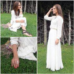 paula vestido largo primavera Mango