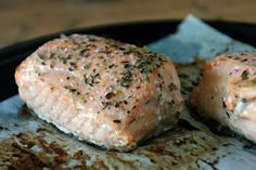 Lavender-Lemon Roasted Salmon